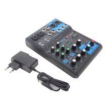 Звуковая консоль finlemho dj микшер mg06 профессиональное аудио