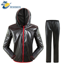 Upgraded Waterproof Raincoat Suit Outdoor Fishing Fashion Sports Raincoat Unisex Riding Motorcycle Rainwear Suit Adult Rain Jack