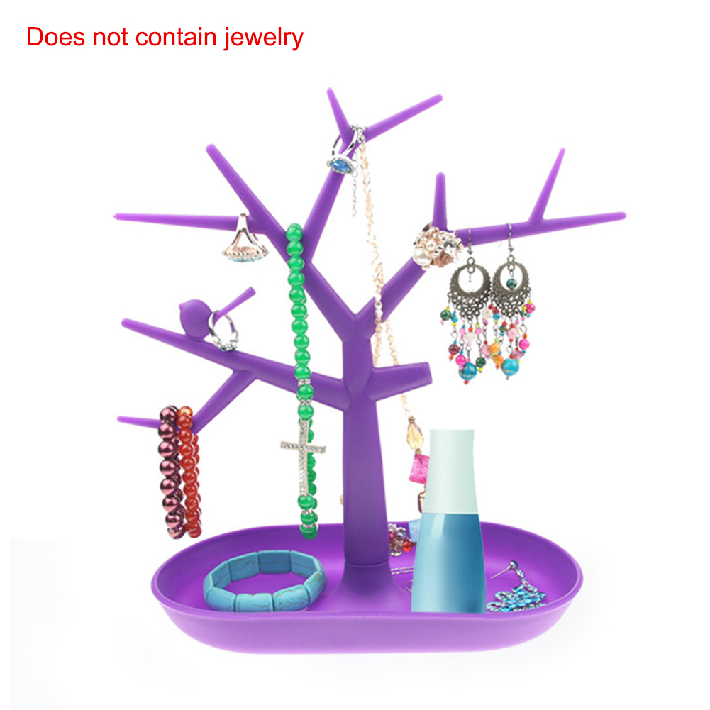 Multiple Shapes Polyresin Hand Tree Shape T-bar Jewelry Stand Display Storage Rack Necklace Bracelet Bangle Anklet Watch Display