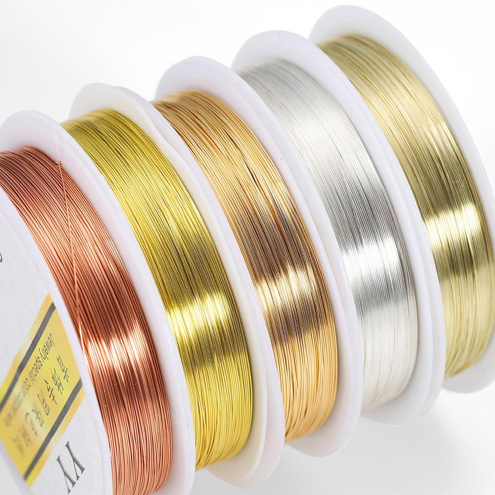 1 рулон, разноцветная веревка для бисероплетения, 0,2-1,0 мм