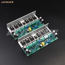 2 채널 L15 전력 증폭기 IRFP240 IRFP9240 FET 보드 (각도 알루미늄 포함)/방열판 포함