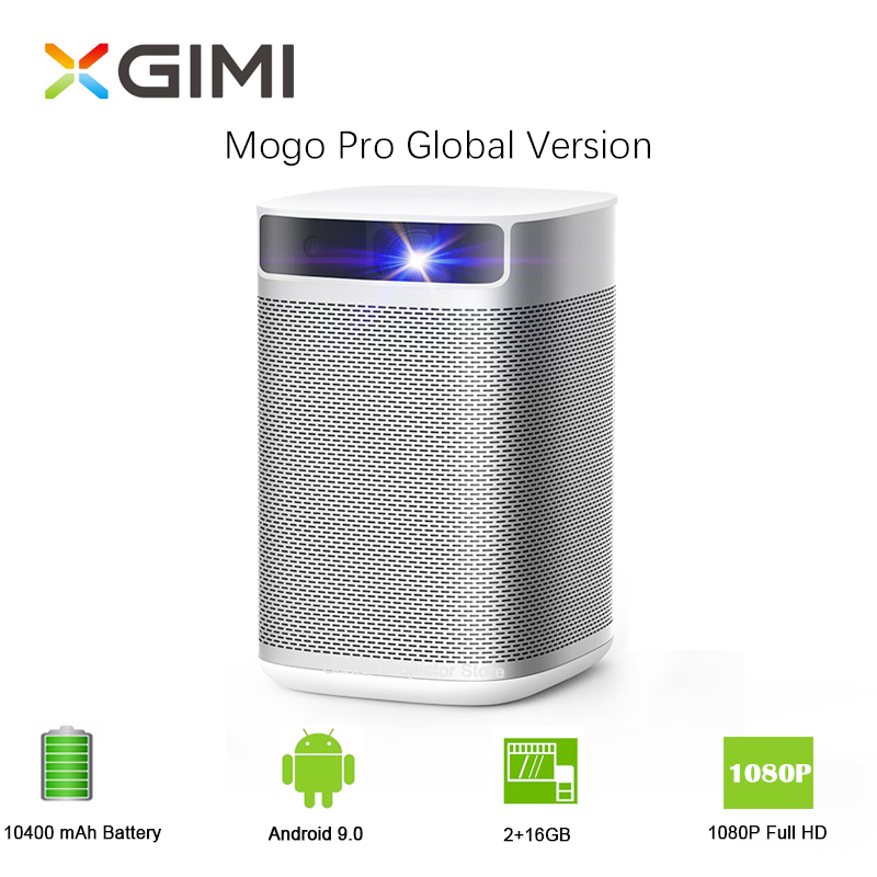 XGIMI Mogo Pro imtv projector Full HD DLP Mini Pocket Android 9.0 3D Projector LED Beamer For Home Cinema With 10400mAH Battery(China)