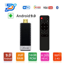 X96s inteligente 4K Android 9,0 TV caja Amlogic S905Y2 DDR3 4GB 32GB X96 Mini PC TV Stick 5G WiFi Bluetooth 4,2 TV Dongle reproductor de medios(China)