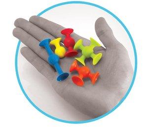 Image 4 - Blocos de construção de plástico macio crianças diy pop otários engraçado bloco de silicone brinquedo de construção para crianças meninos meninas presente natal