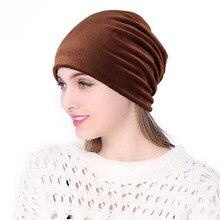 Лидер продаж, 1 шт., шапка бини для женщин и мужчин, повседневный бархатный головной убор, головной убор, уличная зимняя одежда, теплая вязаная шапка унисекс