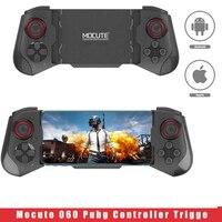 Mocute-mando 060 PUBG para móvil, mando inalámbrico para Ios y Android, Bluetooth, compatible con Joysticks telescópicos para teléfono móvil