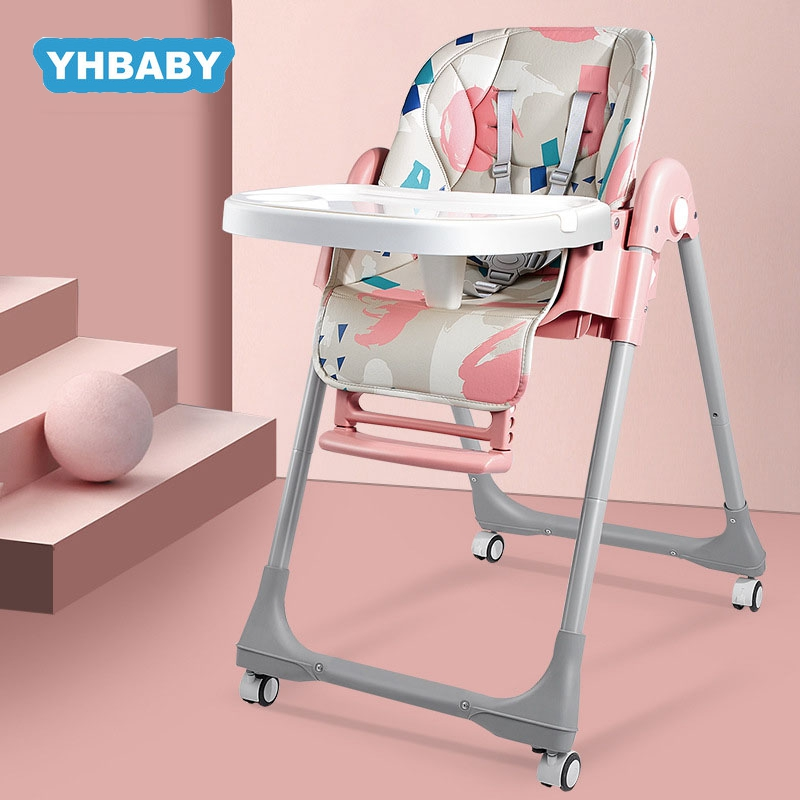 Baby High Chair Baby Feeding Chair Foldable Kids Table Feeding Chair