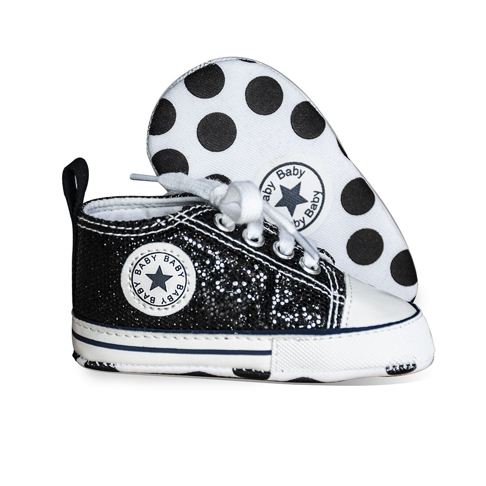2019 New Fashion Newborn Baby Boy Shoes Girl Sneaker Soft Anti-Slip Bling Flash First Walkers Toddler Canvas Crib Infant Shoes