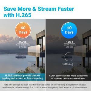 Image 3 - ANNKE 4K Ultra HD Video Überwachung Kamera System 8CH 8MP H.265 DVR Mit 4PCS 8MP Outdoor Wetter Sicherheit kamera CCTV Kit