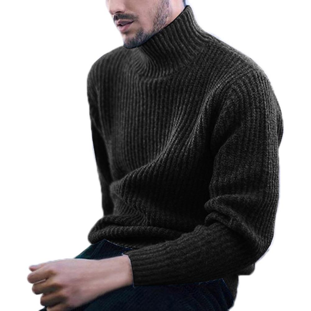 cor sólida manga comprida casual pulôver camisola