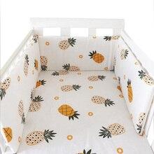 150 см* 30 см скандинавские звезды дизайн детская кровать утолщенные бамперы цельная кроватка вокруг подушки защита для кроватки подушки Декор для новорожденных комнаты