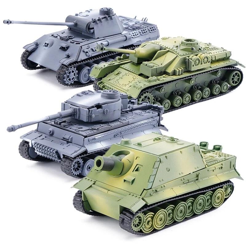 Bloques De Construcción En Miniatura De Tanque 4d Para Niños Maqueta Militar De Montaje De Tanque De Pantera Y Tigre Alemán De La Segunda Guerra Mundial World Model Model Assemblygerman Tiger Tank Aliexpress