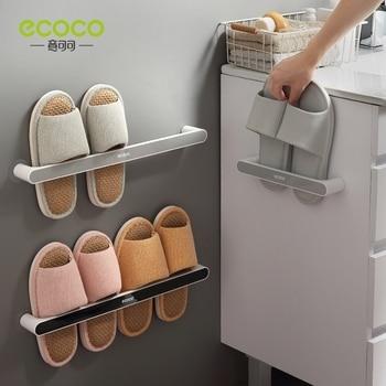 QDRR Ванная комната Тапочки шкаф настенный тип настенный туалет для хранения обуви для наружных осветительных приборов Туалет отверстие для стеллаж для хранения обуви стойки #0832 Полки и органайзеры для обуви      АлиЭкспресс