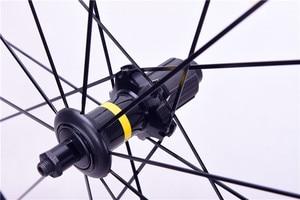 Image 2 - Cosmique Elite roue de bicyclette ultralégère en alliage daluminium avec v brake, 40mm, vélo de route, 700C