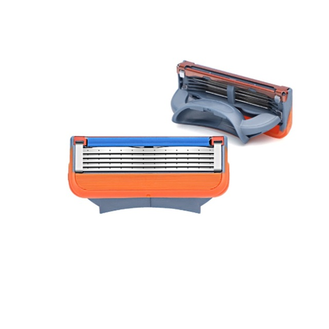 20PCS/BOX Men Razor Blades 5 Layer High Quality Shaving Cassettes Face Care Men Shaving Blades 1