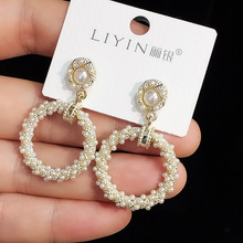 charm Korean earrings elegant fashion tassel trendy  vintage chandelier bohemian boho for women jewelry