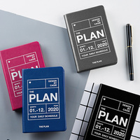 2020 planner agendas a7 일기 주최자 노트북 및 저널 주간 월간 비즈니스 학교로 돌아 가기 여행 참고 도서 계획 미니