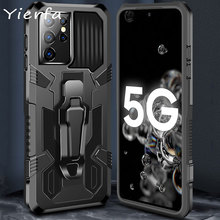 Case For Samsung S21 Ultra Case Shockproof Stand Phone Back Cover For Galaxy S20 FE S21Plus Note 10 20 Ultra Note20 5G Shell