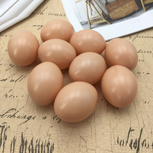 Simulation eggs DIY hand-painted teaching aids toys kindergarten painting painted fake eggs early education toys gifts