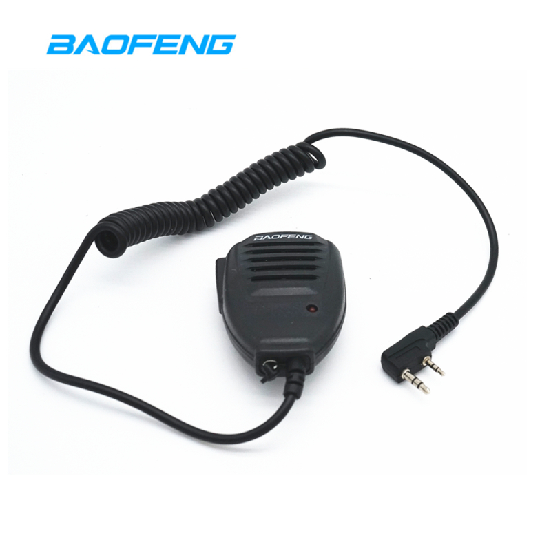 Original Baofeng UV82hp Microphone Portable CB Radio Speaker Mic Handheld PTT For Two Way Radio Walkie Talkie UV-5R BF-888S UV82