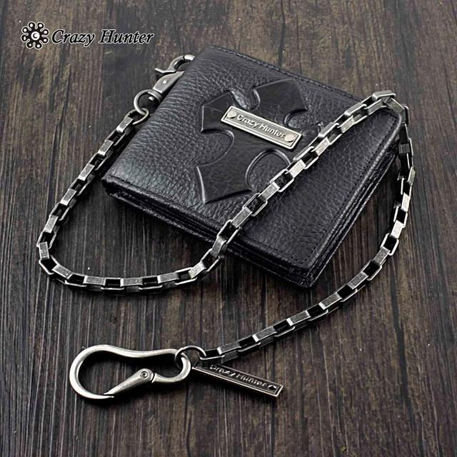 Leather Wallet w/ Key chain 3