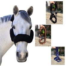 Equestrian equipment, horse faucet, plush, winter protection, horse set, high quality