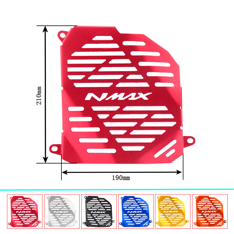 Motorcycle Radiator Grille Guard Cover Protector tank Accessories For NMAX 155 MAX155 NMAX155 2015-2018 image
