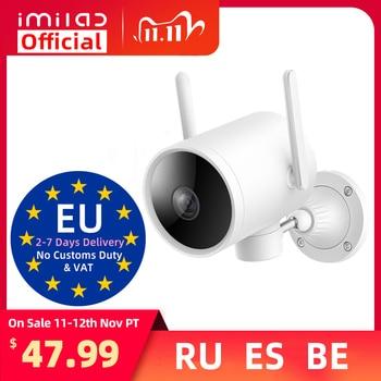IMILAB EC3 наружная камера Ip Mi Home 2K HD видео камера видеонаблюдения Wi-Fi Smart AI 025 глобальная Версия камера безопасности для дома с ночным видением