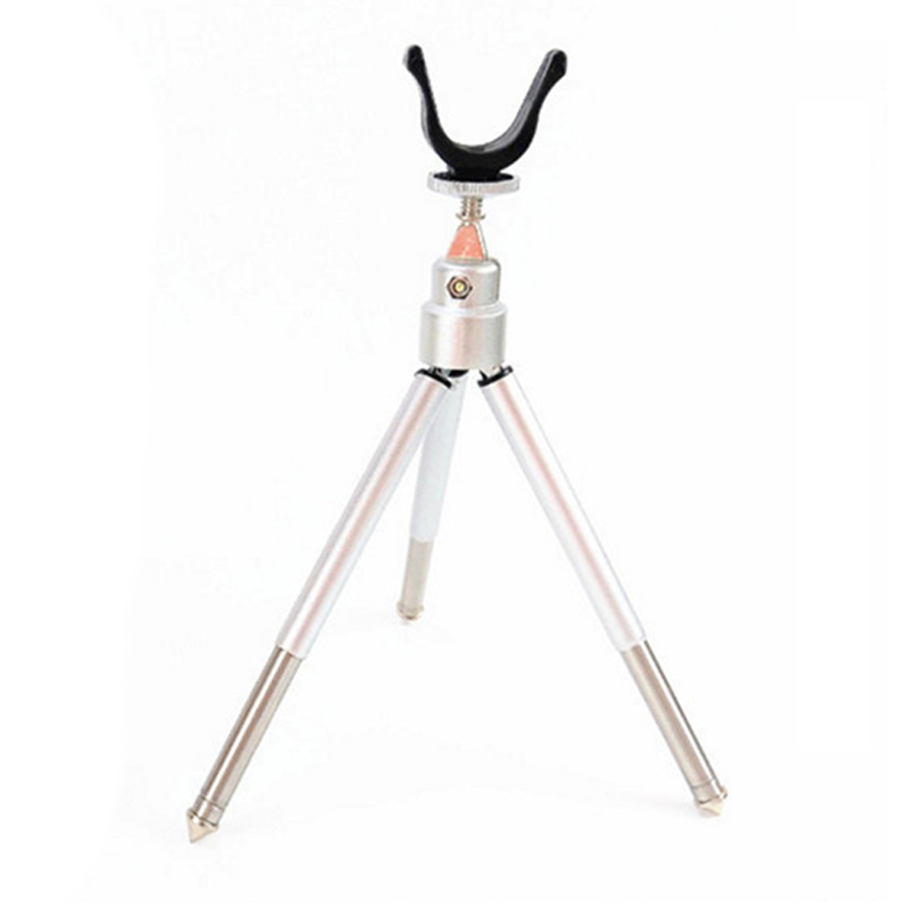 Winter Outdoor Fishing Rod Bracket Aluminum Alloy Portable Folding Tripod Mount Fishing Angling Accessories