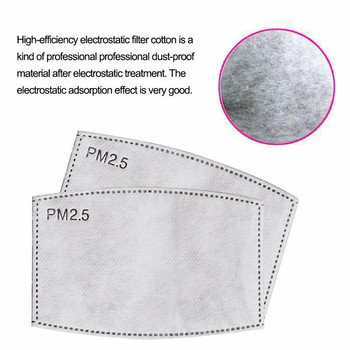 16-200 PCS PM2.5 Filter Paper 5 Layers Anti Haze Mouth Mask Anti Dust Mask Activated Carbon Filter Paper Adult Child Health Care Computers, Tablets & Networking