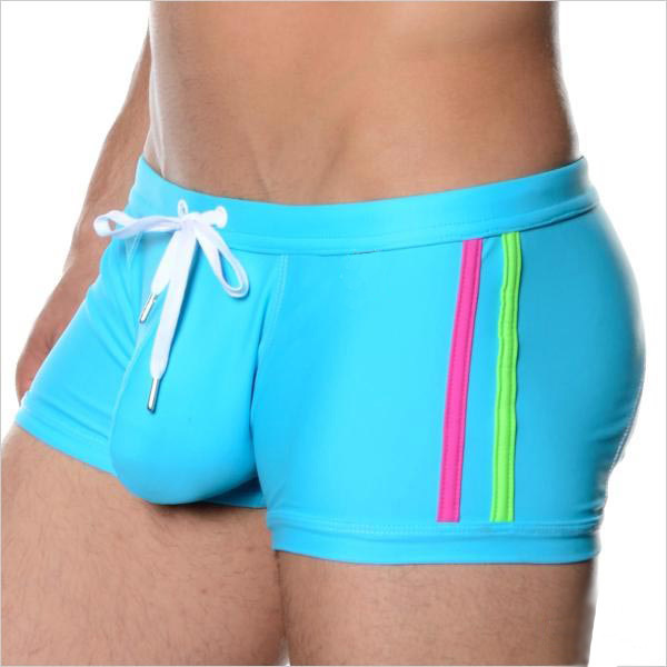 MEN'S Swimming Trunks Boxer Swimming Trunks Men's Fashion-Style Large Capsular Bag Bubble Hot Spring Quick-Dry Beach Swimming Tr