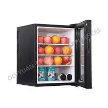Mini frigorífico do quarto do hotel, pequeno refrigerado fresco-armário de manutenção, economia de energia e silencioso casa pequena geladeira