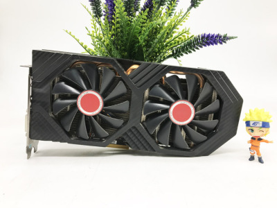 XFX Used RX 580 8GB 256bit GDDR5 desktop pc gaming graphics cards video card not mining 580 8G XFX|Graphics Cards| - AliExpress