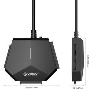 Image 5 - ORICO SATA a USB 3.0 Hard Drive Adattatore 2.5/3.5 pollici SATA & IDE Hard Drive Adapter 5 Gbps ad alta velocità con 12V Adattatore di Alimentazione