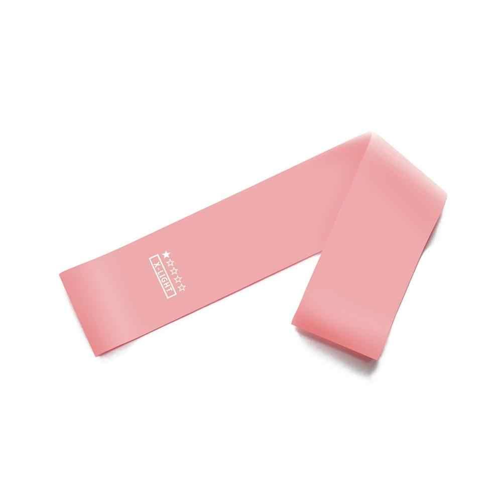 Czerwony Gradient joga odporność opaski gumowe kryty sprzęt do ćwiczeń na świeżym powietrzu Pilates Sport trening do ćwiczeń, elastyczne opaski