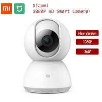 Caméra intelligente Xiaomi MiJia originale 1080P 360 degrés caméra IP Vision nocturne maison panoramique WiFi Kamera appareil photo