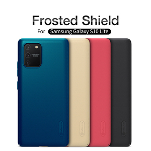 Image 2 - For Samsung Galaxy S10 Lite back cover case NILLKIN Super Matte Frosted Shield cover case For Samsung S10 Lite