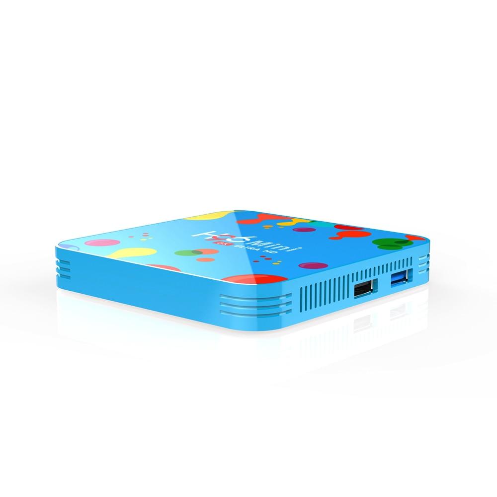 H96 mini 6K * 4K HD 1080P Allwinner H6 Quad Core Android Smart TV Box Android 9,0 set-Top-BOX Media player Unterstützung 3D HDMI IPTV