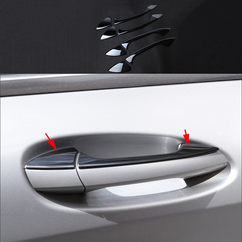 8x Chrome plate Stainless Steel Out Door Handle Cover Trim For Mercedes-Benz A B CLA GLA CLS Class W176 W246 C117 X156 C218