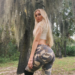 Melody Four Ways Stretchable Mid Rise Camo Leggings Women Summer Camouflage Push Up Leggings High Elastic Sexy Camo Clothing