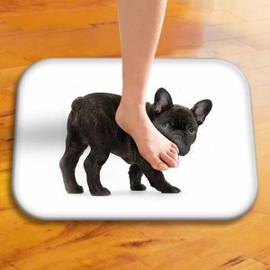 Image 4 - Alfombra de dormitorio familiar con estilo, bonita alfombra de Pug, alfombra de baño, cocina, dormitorio, Mini alfombra, Alfombra de puerta con impresión Digital, 40x60cm ..
