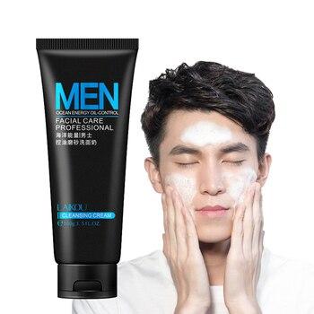 100ml Men Facial Cleanser Face Washing Blackhead Remove Oil Control Moisturizing Man Skin Care Scrub Deep NorishingCosmetics 1