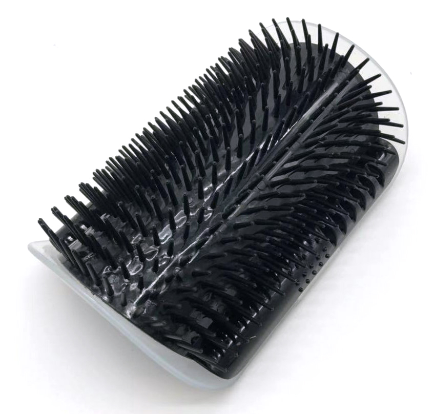 Cat Self Groomer Brush with Catnip Pet Massage Supplies Hair Removal Comb for Dog Cat Corner Groomer Cat Scratch Massager Tool 8