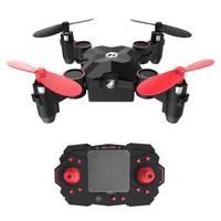 Mini Dron de control remoto plegable HS190 para niños, cuadricóptero de bolsillo con mantenimiento de altitud, modelo sin cabeza, 3D, Holy Stone