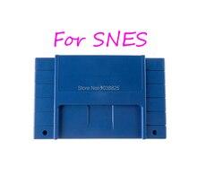 10 bộ/lô HOA KỲ Phiên Bản Trò Chơi Hộp Vỏ Nhựa 16 bit thẻ trò chơi Nhà Ở dành cho SNES/S FC với 2 vít