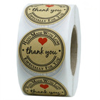 500pcs Kraft Paper R...