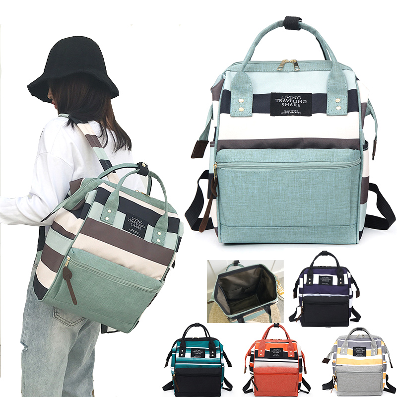 Fashion Diaper Bag Waterproof Maternity Mummy Bag Large Capacity Baby Bag Women Travel Backpack Nappy Bags Nursing Bag