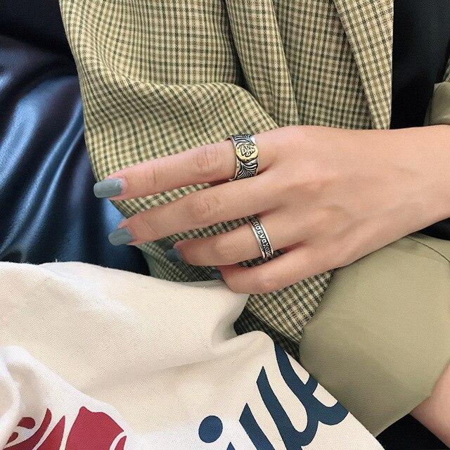 Фото kinel новинка 100% реальное искусственное серебряное кольцо цена