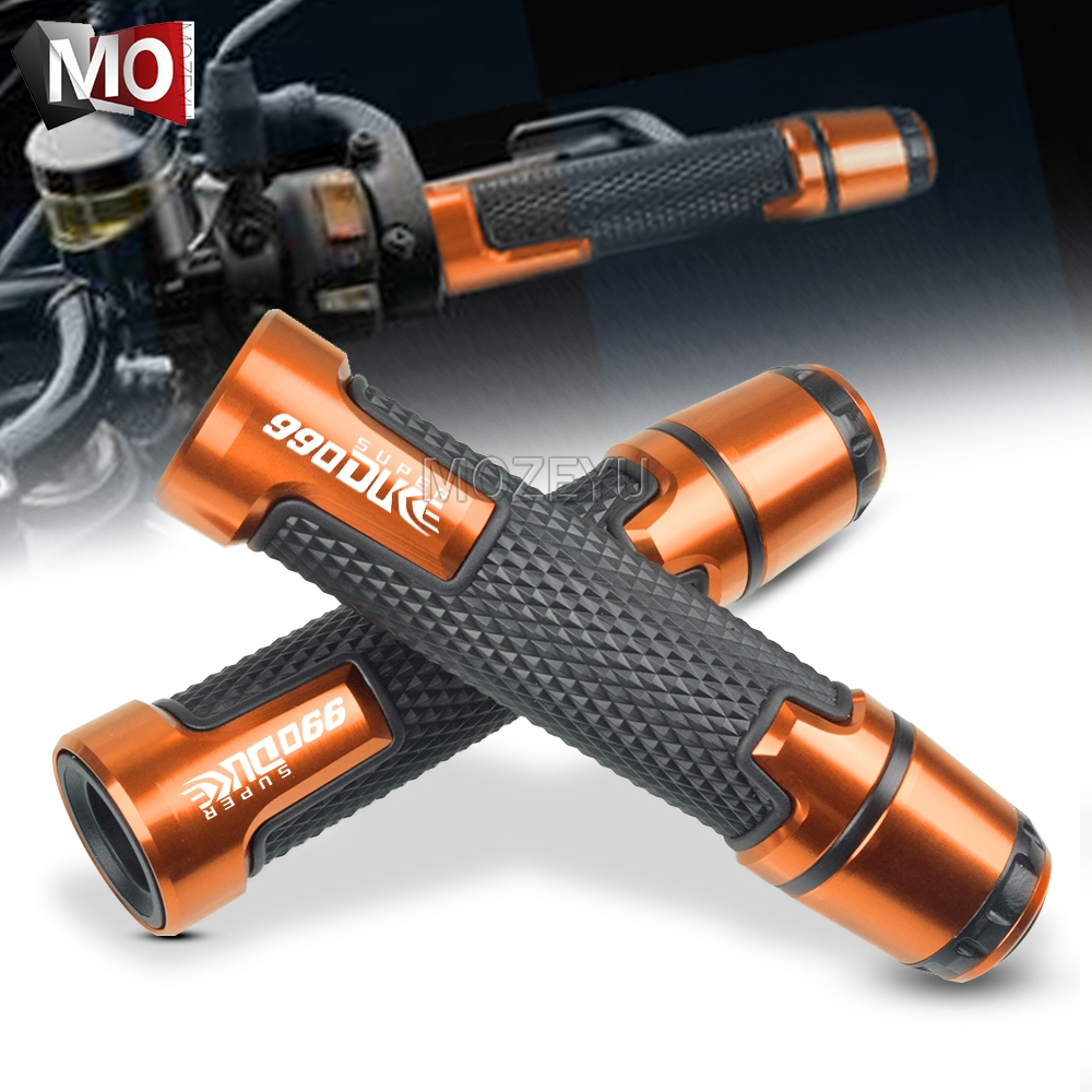 22MM Motorcycle Anti-skid Handlebar Grips Cover Slider Falling Protector Cap Hand Bar End For KTM 990 Super Duke 2005-2012 2011