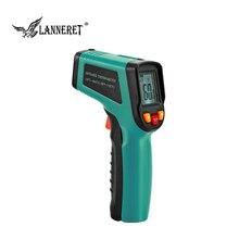 LANNERET Инфракрасный термометр ЖК-дисплей цифровой лазерный Бесконтактный ручной термометрический индикатор пистолет